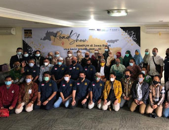 SAUDIA AIRLINES INDONESIA HADIRI ROAD SHOW HIMPUH DE JAVA